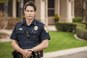 First Responders and PTSD concept image